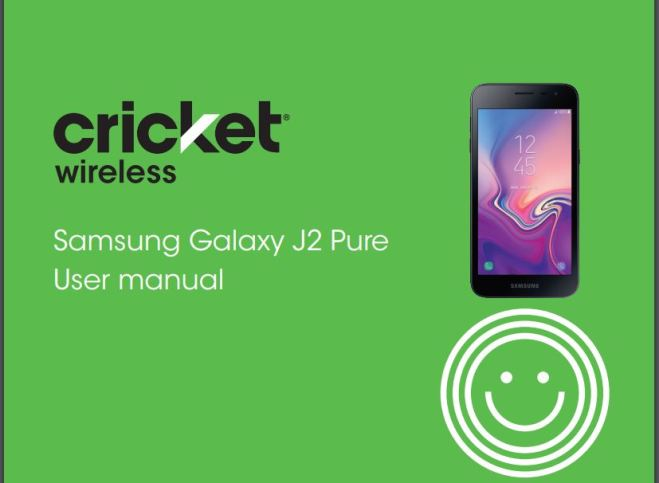 Samsung Galaxy J2 Pure J260AZ User manual