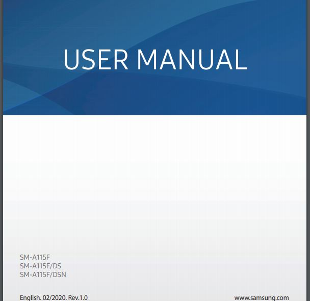 Samsung Galaxy A11 User Guide / Manual