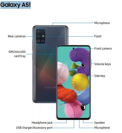 AT&T Galaxy A51 SM-A515U User Manual / Guide