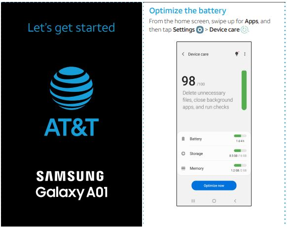 AT&T Samsung Galaxy A01 SM-A015A