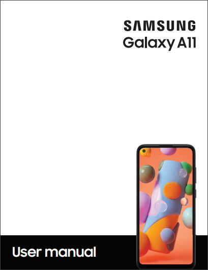 ATT Prepaid Galaxy A11 SM-A115AP User manual / Guide
