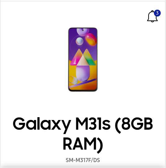 Samsung Galaxy M31s SM-M317F User manual / Guide