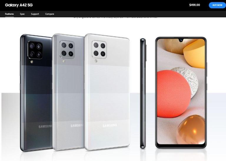 Samsung Galaxy A42 5G SM-A426B User manual / Guide