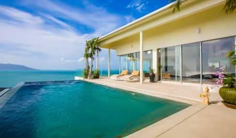 Villa Blueberry – Incredible Sea View – North-East Of Koh Samui – Plai Laem