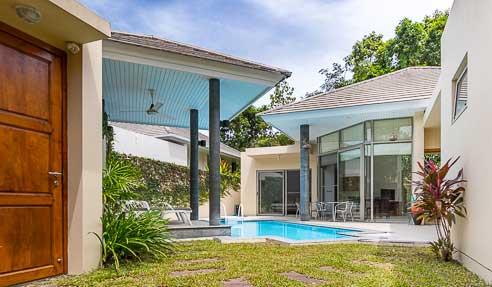 Creavana 3 – Beautiful Fenced Villa – West Of Koh Samui – Lipa Noi
