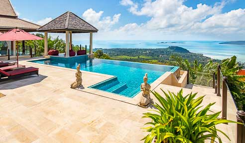 Villa Disa – Incredible Sea View – South Of Koh Samui – Taling Ngam