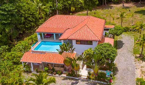 Villa Mangosteen – European Construction Standards – North Of Koh Samui – Maenam