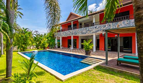 Villa Marigold – Close To The Beach – West Of Koh Samui – Taling Ngam