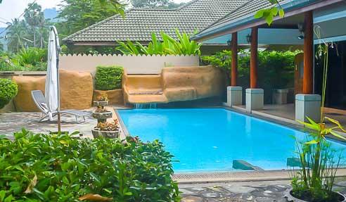 Villa Plumeria – Plain Pied – West Of Koh Samui – Lipa Yai