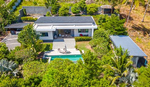 Villa Tiger Flower – Peaceful Location – South Of Koh Samui – Taling Ngam