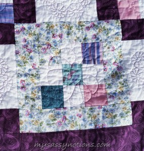 Focal fabric: floral print