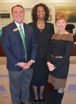 left-to-right-hunter-hall-field-representative-of-buddy-carter-jennifer-stewart-owner-of-stewart-income-tax-services-and-mary-jane-crouch-executive-director-of-second-harvest