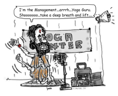 baba ramdev cartoon image,