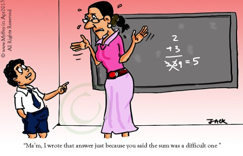 school kids cartoon, teacher cartoon,maths cartoon,