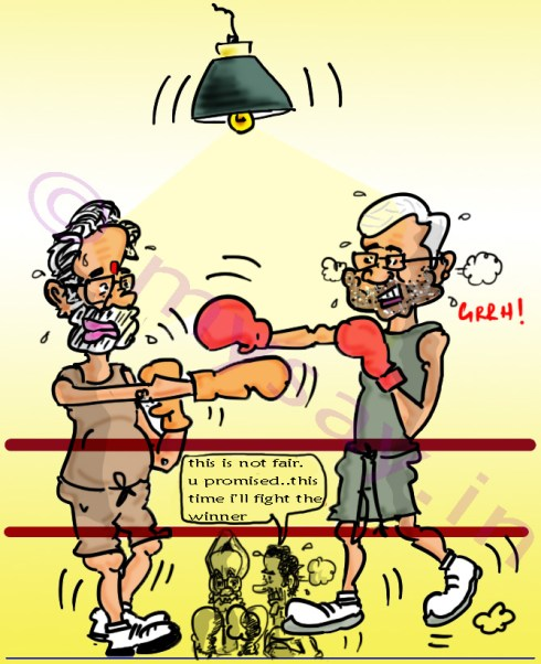 modi cartoon,nitish kumar cartoon,manmohan singh cartoon,rahul gandhi cartoon,