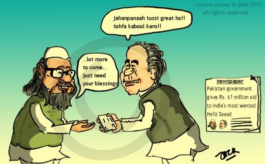 pakistan,nawaz sharif,hafiz saeed,cartoon,mysay.in