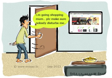 shoping in 2030,cartoon picture image online shopping,ebay.in contest,mysay.in