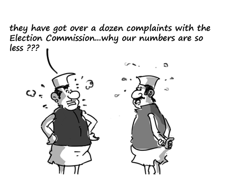 2014 general election jokes,political cartoons,election commission jokes,mysay.in,