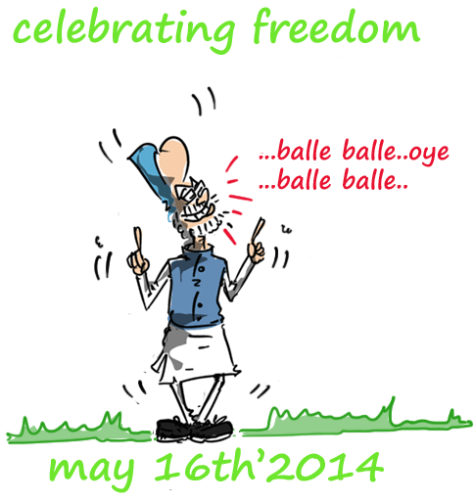 manmohan singh cartoon,mysay.in,political cartoons,2014 general election cartoons,