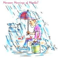 Monsoon Hits Mumbai !