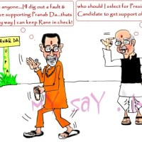 Why is Shiv Sena supporting Pranab Mukherjee, the UPA candidate, for President's Post ?
