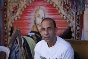 Muslim Israeli facing Jesus