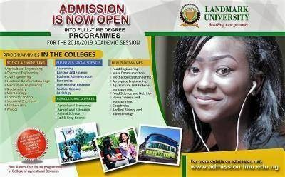 Landmark University Admission Screening