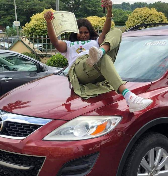 Corps Member Recounts how she Bought her first Car from Selling Fish