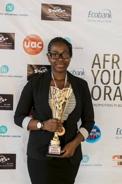 15-Year-Old Pupil Emerges Winner of Africa's Young Orators, Moves on to Speak in UK