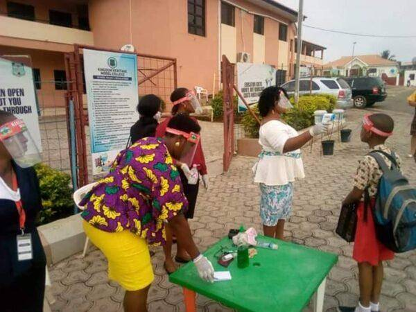 Schools Officially Resume in Oyo State;  Photos