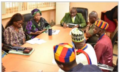 FUNAAB Vice-Chancellor urges University unions to embrace dialogue