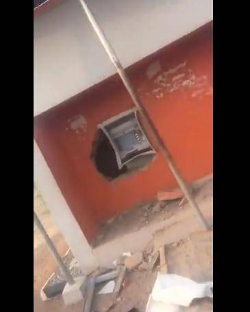 Thieves Allegedly Burgle ATM in UniOsun