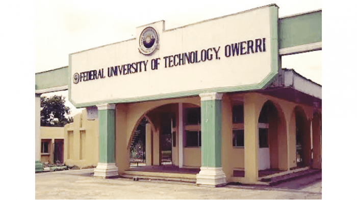 FUTO Supplementary Admission List, 2018/2019 Out