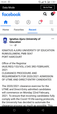 IAUE clearance procedure and requirements for 2020/2021 session