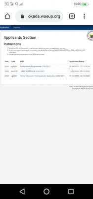 Igbinedion University postgraduate application deadline for 2020/2021 session