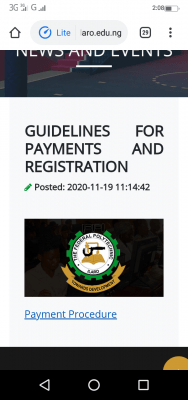 FEDPOLY Ilaro releases guidelines for payments and registration of admitted students