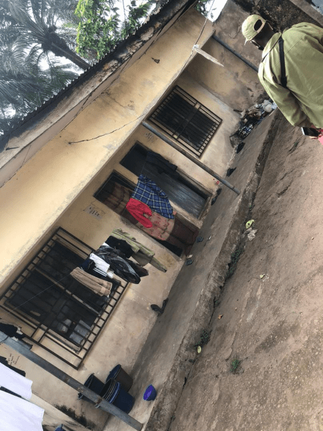 Imo state corps members share photos of the poor state of their lodge
