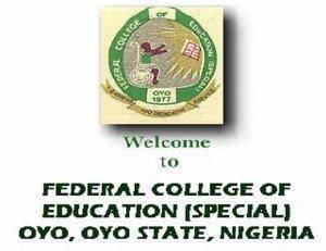 Federal College of Education (Special) Oyo Post-UTME 2019[NCE Courses]: Cut-Off, Date, Eligibility, Registration Details