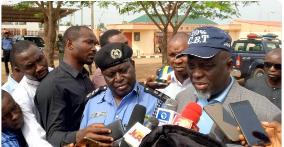 Two JAMB Officials 'Almost Set Ablaze' At Mock Exam Centre In Lagos