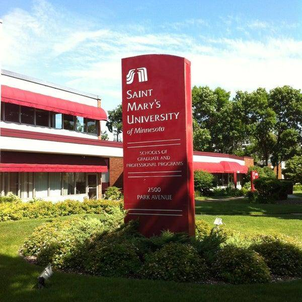 2021 New Student International Scholarships at Saint Mary's University of Minnesota, USA