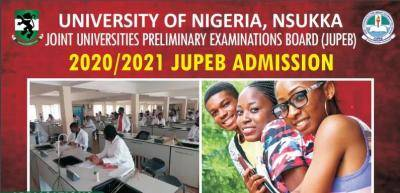 UNN JUPEB admission form for 2020/2021 academic session is Out