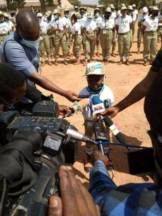 Meet the shortest corps member ever (photos)