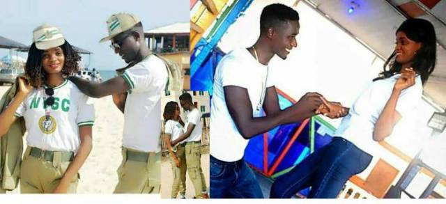 She Said Yes! - NYSC Corper Rejoices as He and Fellow Corper Get Engaged