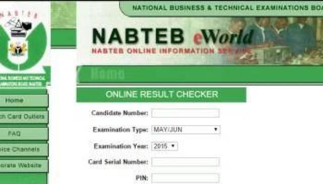 NABTEB Nov/Dec GCE Registration, 2018 Hs Commenced