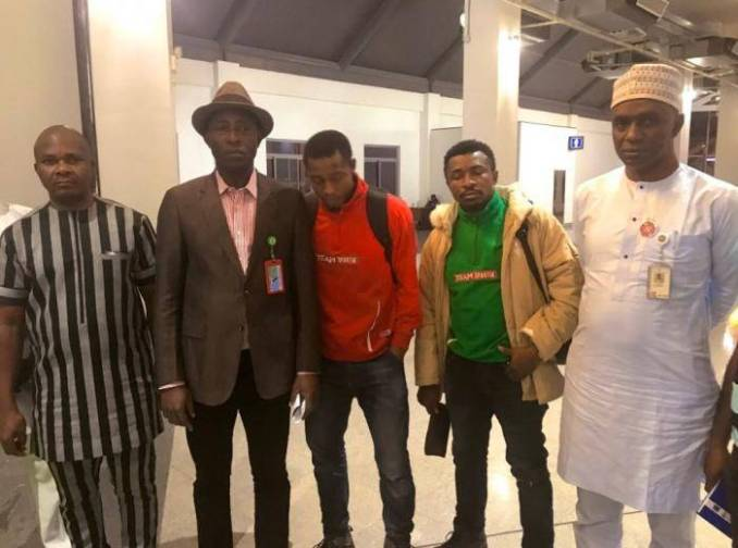 2 Nigerian Students Wrongfully Deported  from Croatia to Bosnia Arrive Nigeria