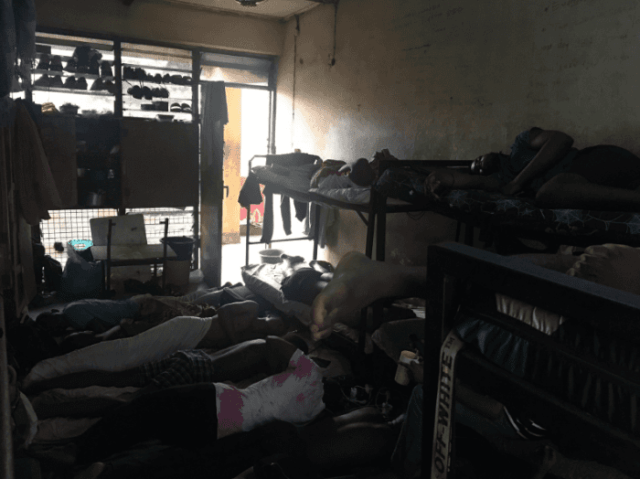 UNILAG Student Shares Shocking Pictures of the School Hostel and how Students Sleep