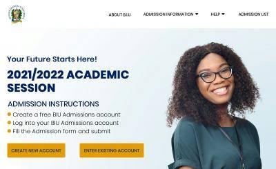 BIU Post-UTME/DE 2021: Eligibility and Registration Details