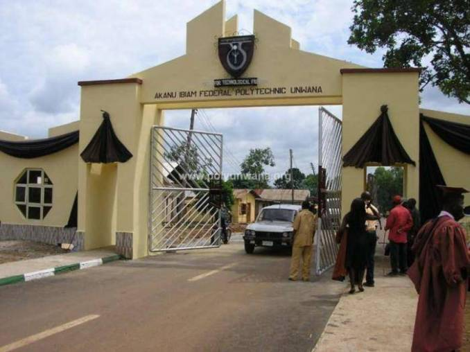 Akanu Ibiam Federal Polytechnic HND (FT/PT) Admission, 2019/2020 Announced