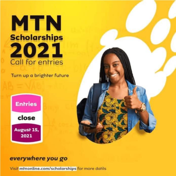 NOW OPEN: 2021 MTN Scholarship Scheme For Nigerians