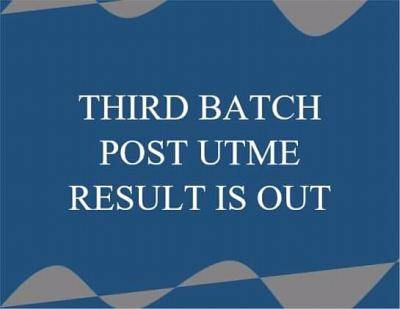 Fed Poly Ile-oluji 3rd batch Post-UTME results, 2020/2021